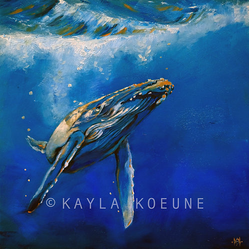Big Blue - Original Painting