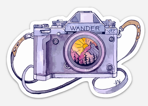Camera Sticker Trio