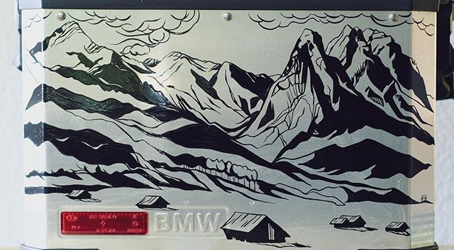 The Other side featuring Garmisch German