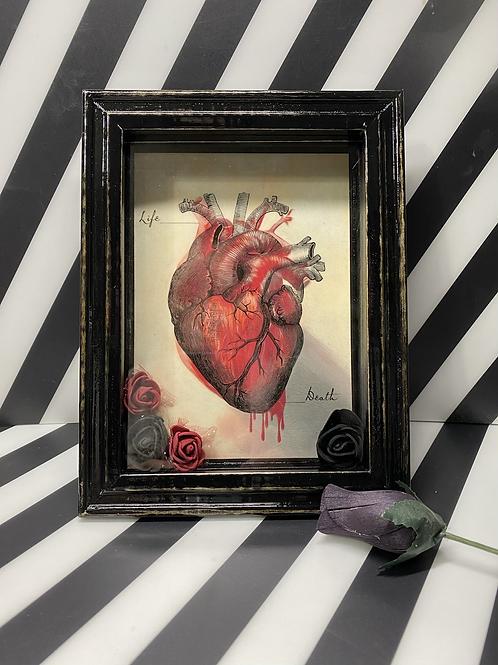 Dark Heart Shadow Box
