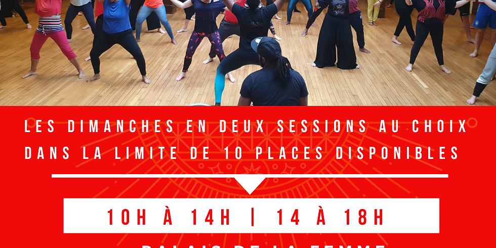 MATIN Stage Yuman Experience et Danse thérapie 10h-14h 21 Mars 2021