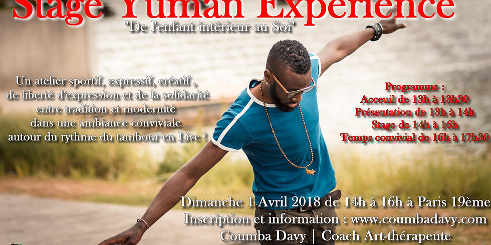 Stage Yuman Experience | Avril 2018