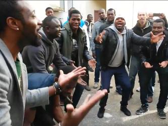 Soutien au 83 personnes expulsés à St-Denis