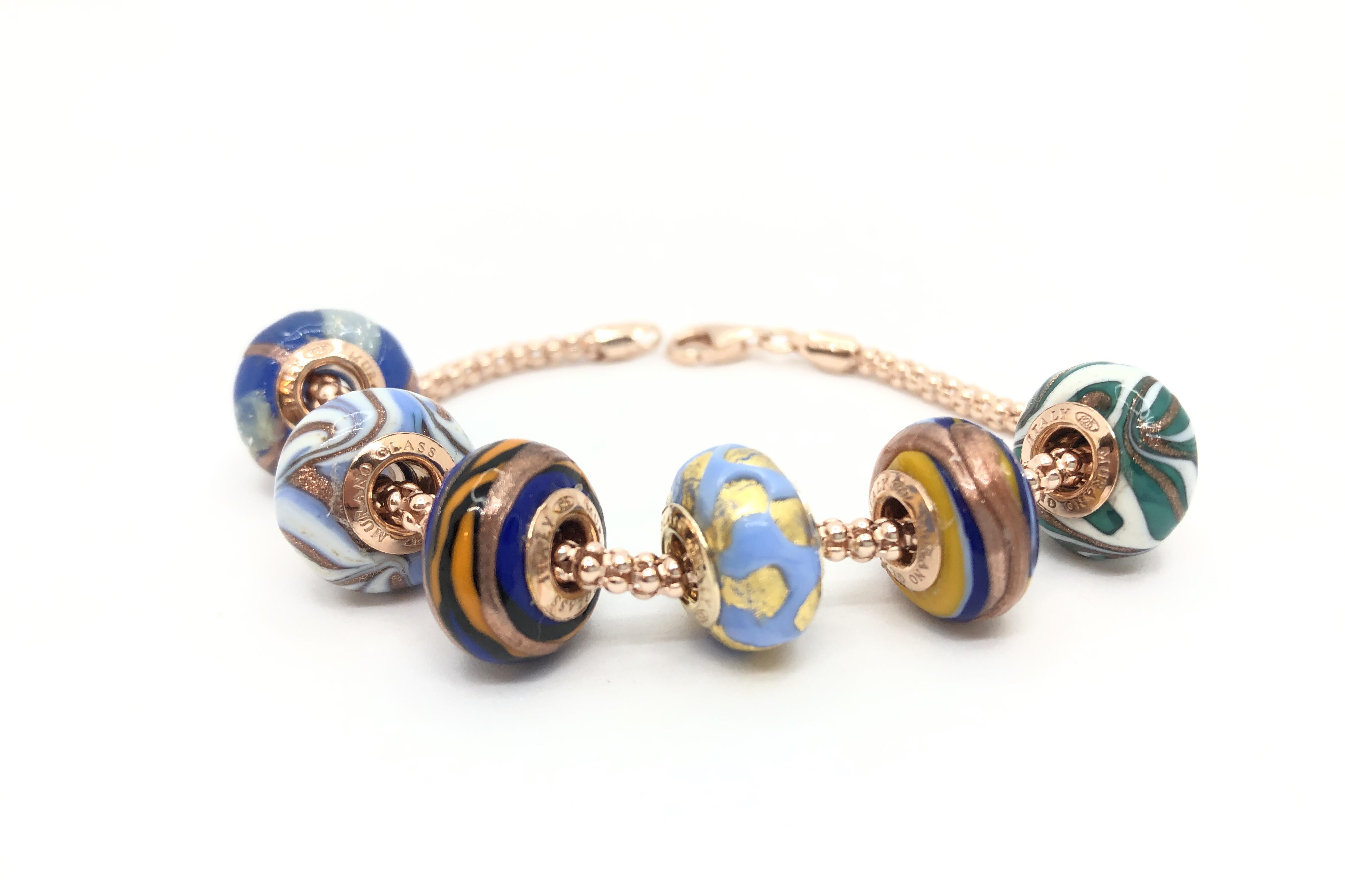 Bracciale completo di Perle artigianali