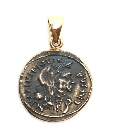 Medaglia moneta Romana anticata