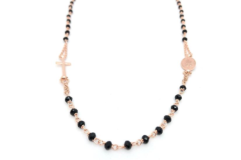 Collana in stile rosario con Onice.