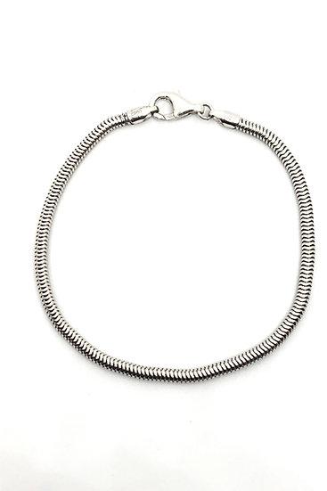 Bracciale per charms in argento 925