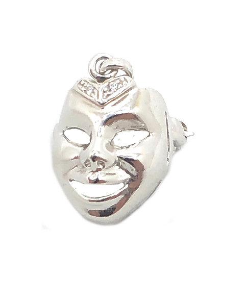 Pendente spilla mascherina classica Veneziana.