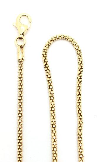 Collana pop coram in argento 925 dorata.