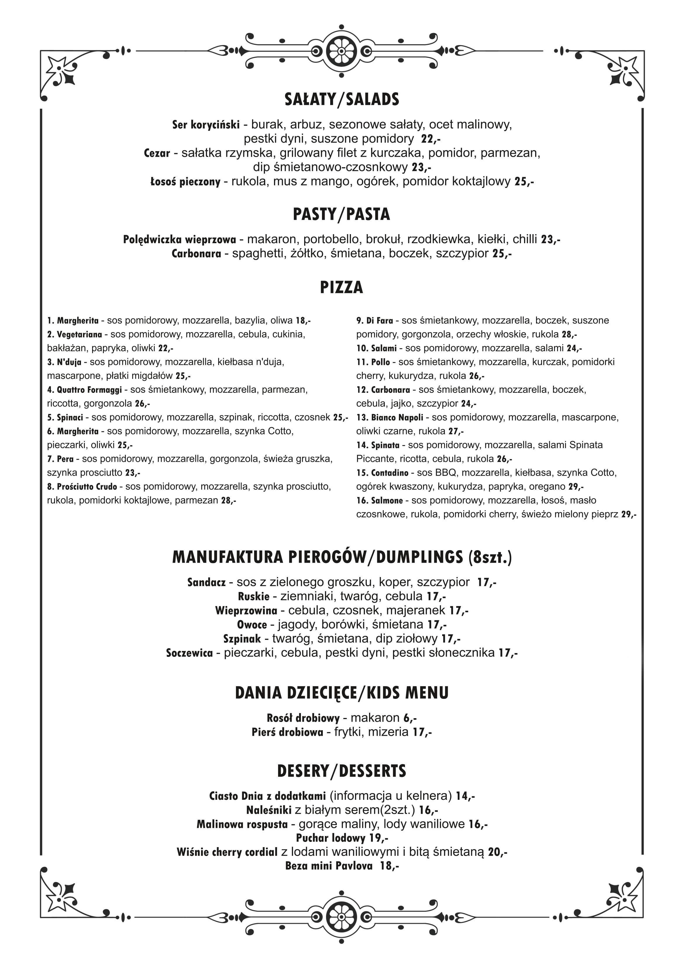 balton menu a3 dwustronne listopad 2020-