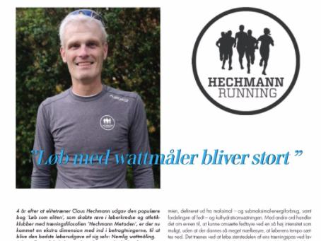 Læs interviewet med Claus Hechmann om wattmåling for løbere!
