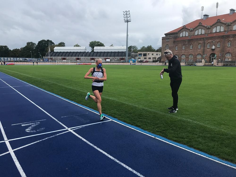 Anna Holm, eliteløber