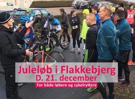 Juleløb i Flakkebjerg d. 21. december  - gratis for medlemmer af Hechmann Running
