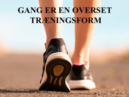 Gang er en overset træningsform ifølge Claus Hechmann