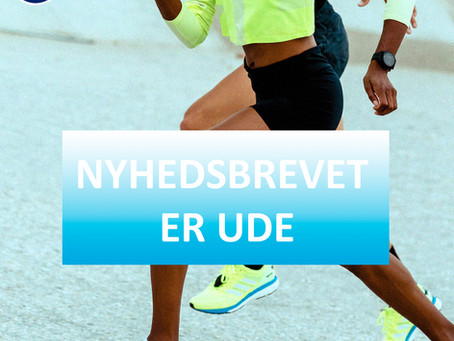 Nyhedsbrev for august - Halvmaratontema
