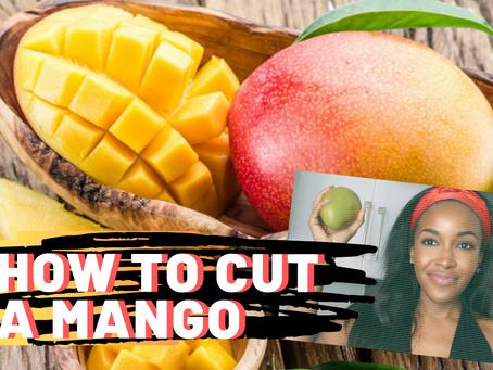 How to cut a MANGO in 1 minute!