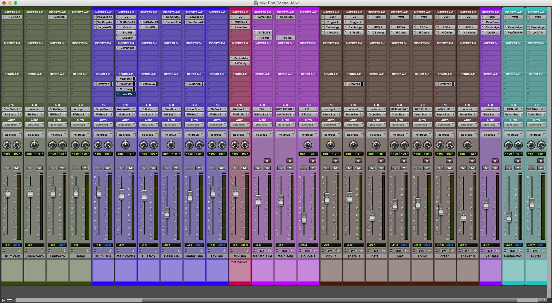 Bref Control Mix