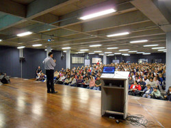 Palestra na faculdade Campos Eliseos