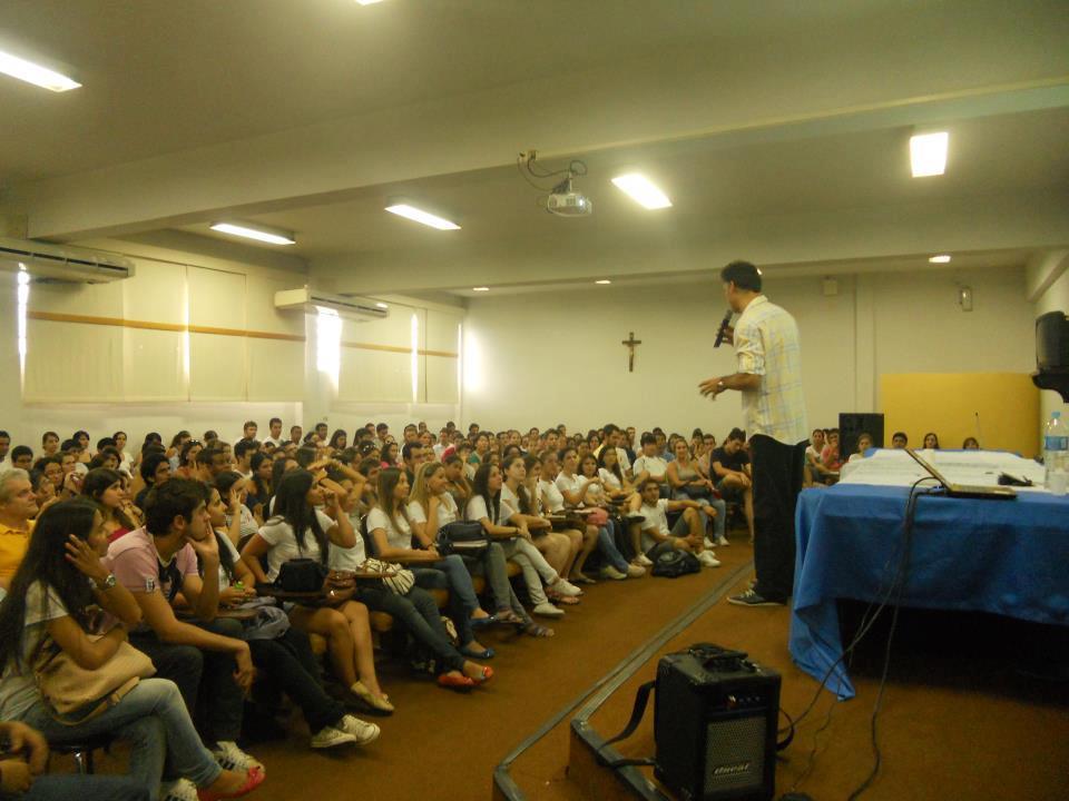 Apresentando evento em Lorena