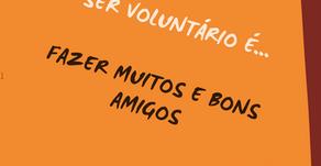 Voluntários juntos para sempre