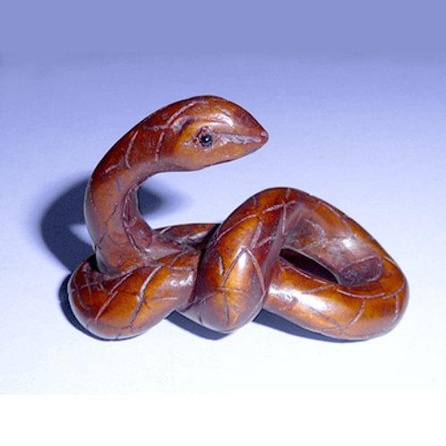 Dark Snake Netsuke
