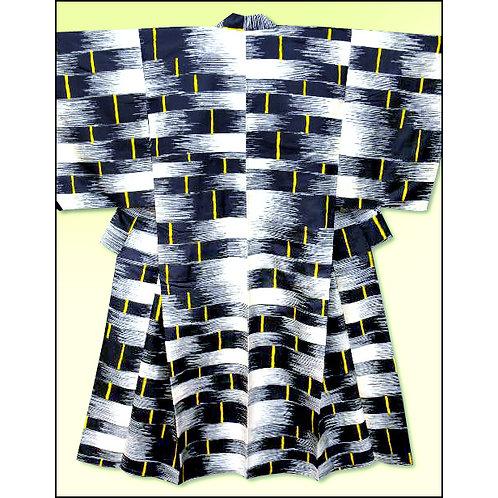 1920s Basket Weave Design Kimono