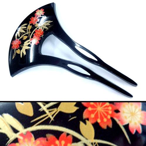 A Japanese Long Comb - Sasa & Sakura