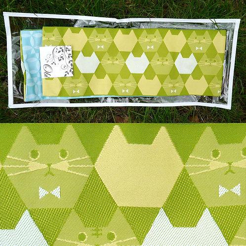 Natty Cats Hanhaba Obi - Green