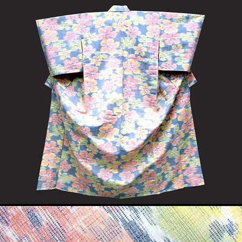 Soft Shades Wool Kimono
