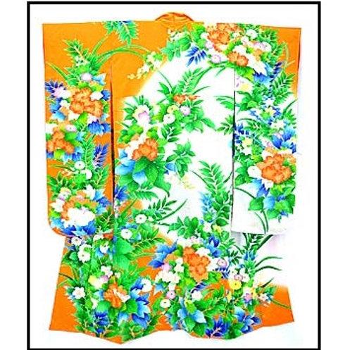 Floral Furisode Kimono