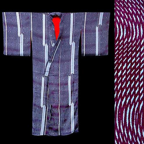 Jazzy Stripes Soft Kimono - 1920s
