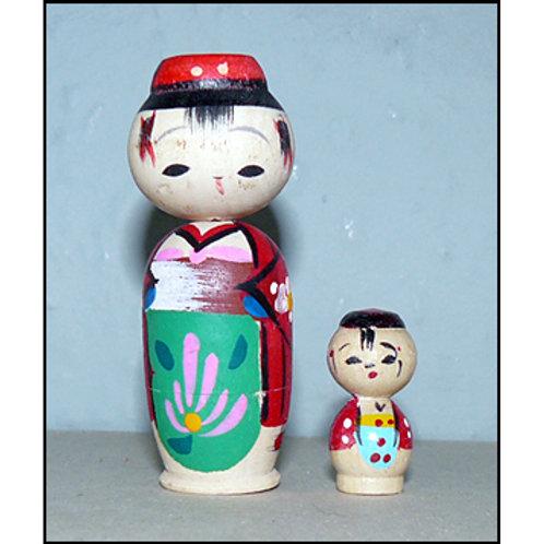 Nesting Kokeshi Doll - B