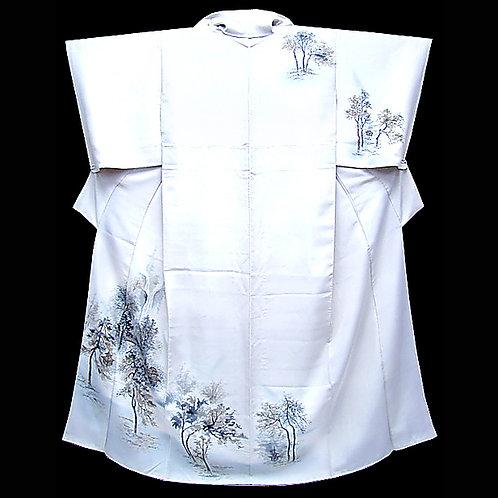 Country Scene Kimono