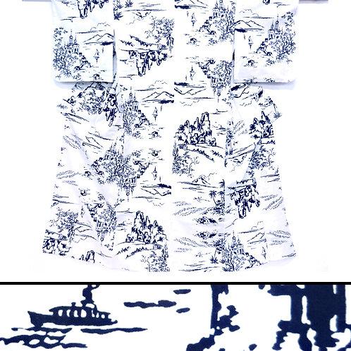 Island Scenes Yukata Kimono
