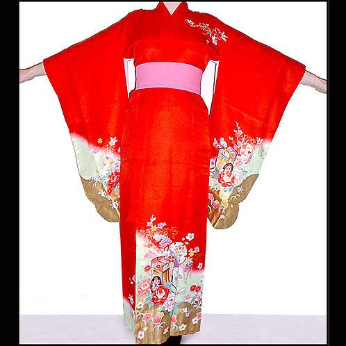 Gosho Guruma & Gold Kimono A