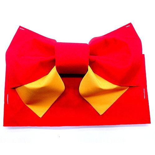 Cho Cho Red Yellow Obi - Girl's
