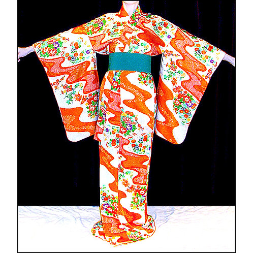 Flowing Water Kimono