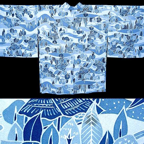 Light Blue Scenic Haori