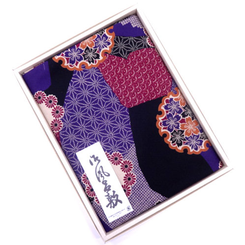 Cotton Furoshiki 113 x 114cm - Boxed - B