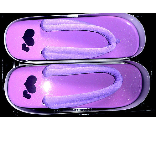 Hearts on Purple Geta B
