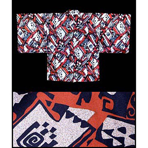 Abstract Pattern Haori
