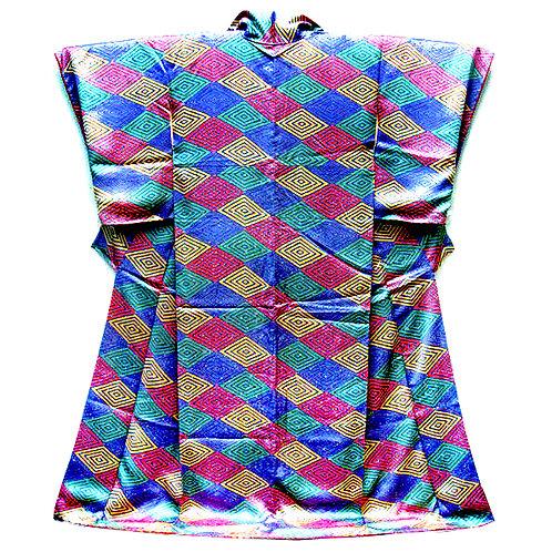 Diamonds Edo Komon Kimono