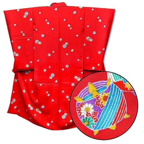 Decorative Spools Red Kimono