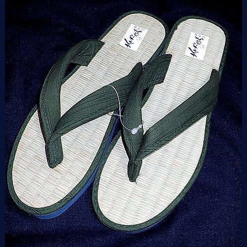 Kimono Sandals - Dark Green