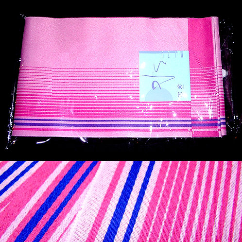 Pink Striped Hanhaba Obi