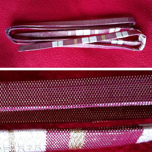 Striped Silk Obijime