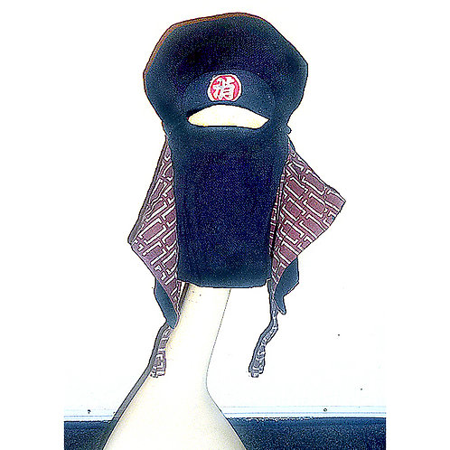 Rare Antique Japanese Fire Fighter's Hood