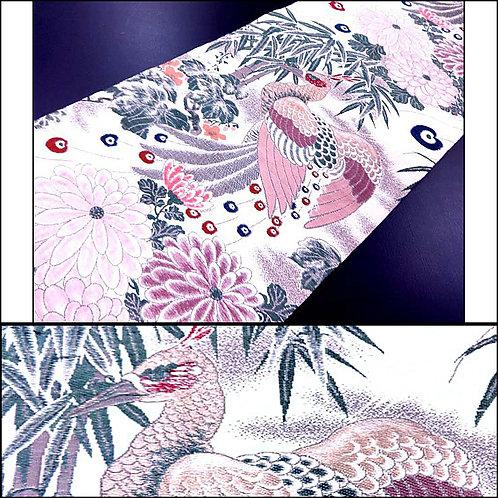Bamboo & Phoenix Maru Obi