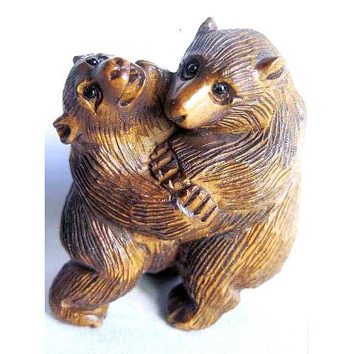 Dancing Bears Netsuke