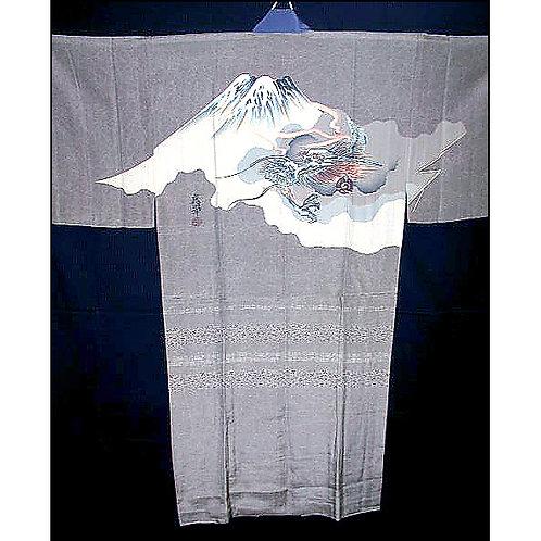 Dragon & Fuji Silk Naga-Juban